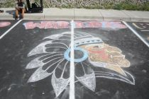 2015 Chalk Art in Honor of Fall Sports