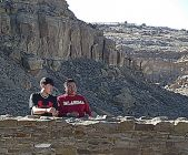 Geometry and Architecture Classes Visit Chaco Canyon