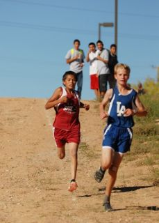 Kye behind first place runner