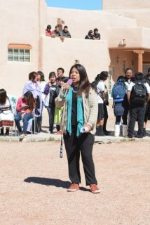 "Rock Your Moc's founder Jessica ""Jaylyn"" Atsye of Laguna Pueblo"