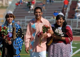 Peshawn, Austin, Aspen, Homecoming Court