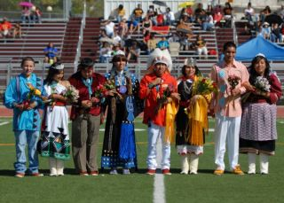 2011 Homecoming Court on Field