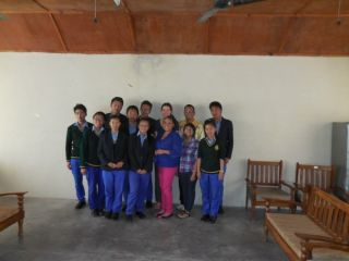Tibetan students and SFIS Brave Girls