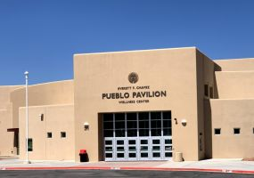 Pueblo Pavilion dedicated to late SFIS Superintendent Everett F. Chavez