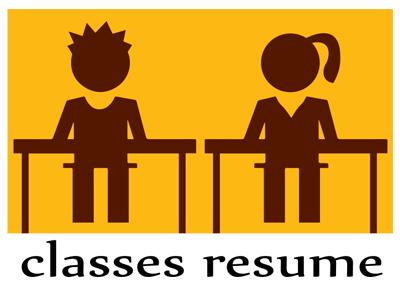 Classes Resume