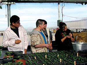 Santa Fe Indian School Agriscience
