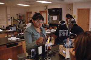 Santa Fe Indian School Science Achievement